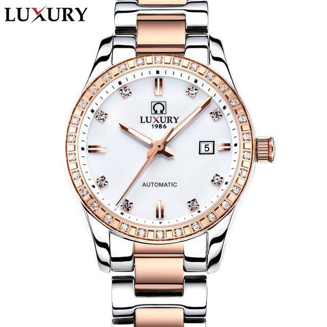 (Siêu Cấp) Đồng hồ Nữ LUXURY CARVAL - Dây Demi Siêu Sang + Hàng Chuẩn Châu Âu bán chạy