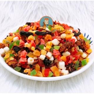 Hoa quả sấy lạnh,mix nhiều loại trái cây, hương vị thơm ngon dinh dưỡng dẻo cho thú cưng thumbnail