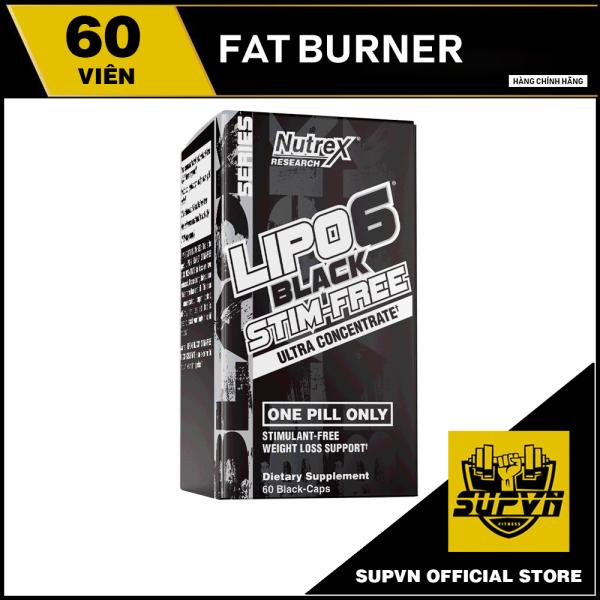Lipo 6 stimfree - Hỗ trợ giảm cân đốt mỡ hiệu quả - Lipo6 stimfree Nutrex