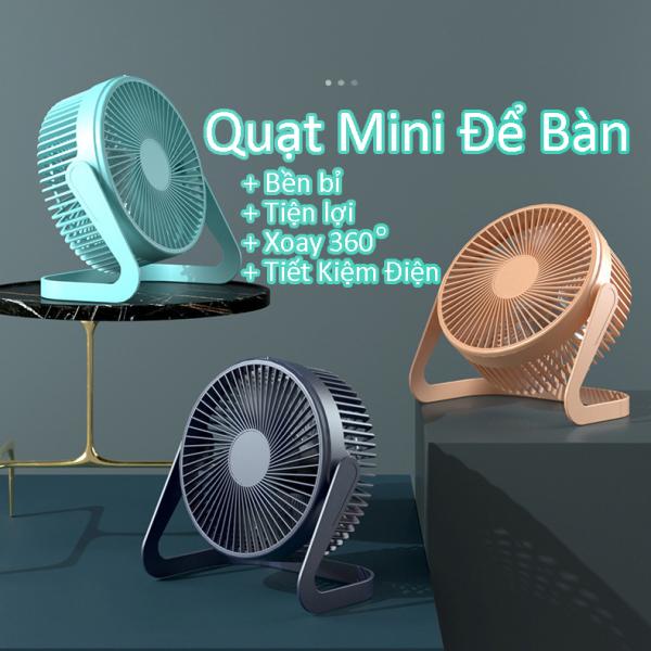 Quạt để bàn, quạt mini tiện lợi nguồn điện cổng usb siêu bền  giải nhiệt Q3