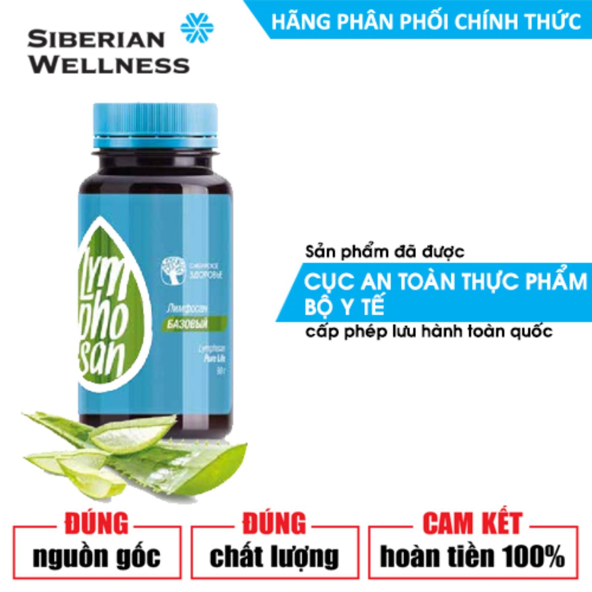 Lymphosan Pure Life hỗ trợ đào thải các chất gây hại ra khỏi cơ thể qua đường tiêu hóa - Hãng phân phối chính thức