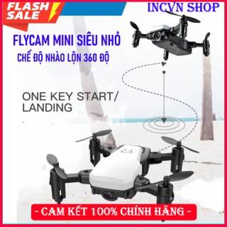 [Gía Hủy Diệt]Máy bay flycam có camera quay phim, chụp ảnh điều khiển từ xa, Flycam mini, flycam giá rẻ quay video- Chế độ nhào lộn 360 độ, Động cơ bền bỉ thumbnail