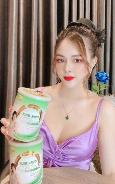 Tăng Vòng 1 Sữa Oval Milk Nở Ngực Nói Không Với viên uống nở ngực viên uống tăng vòng 1