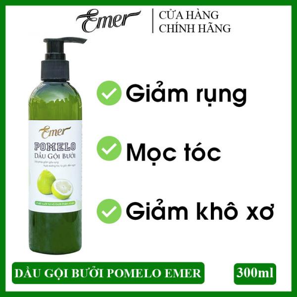 Dầu gội bưởi kích mọc tóc Pomelo Emer 300ml làm sạch tóc và da đầu, giảm rụng tóc hiệu quả cho mái tóc luôn chắc khỏe và suôn mượt tự nhiên cao cấp