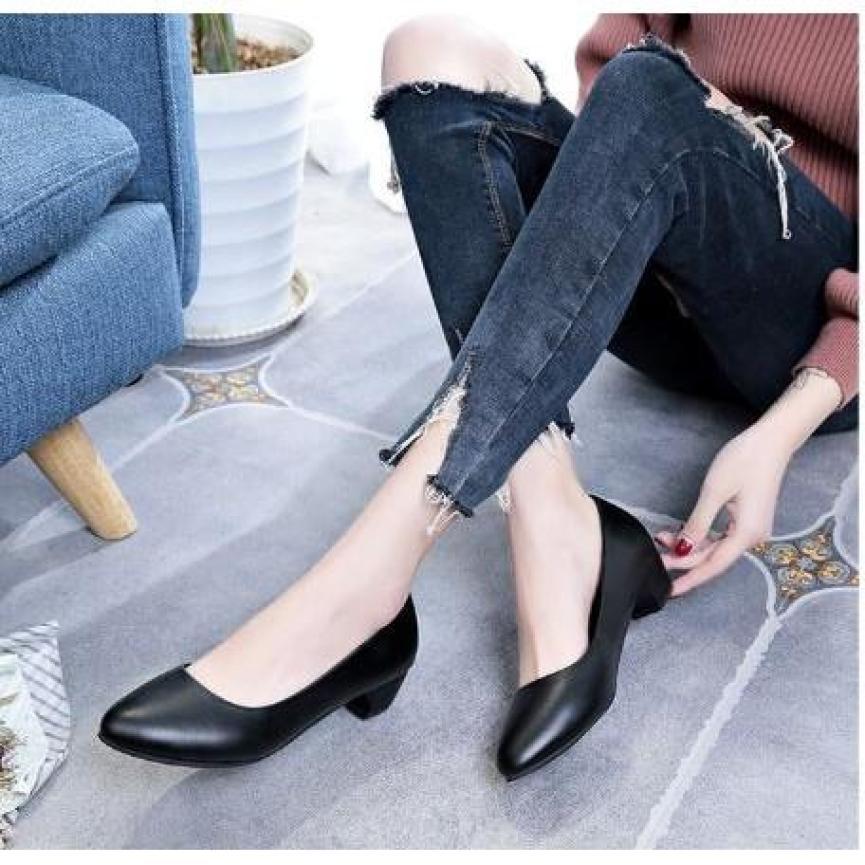 Giày Búp Bê Đế 3cm - Hàng VNXK - VINA GIÀY VIỆT giá rẻ