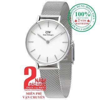 Đồng hồ nữ Daniel WelIlington Classic Petite Sterling -size 32mm - Màu trắng bạc (Silver) DW00100164 thumbnail