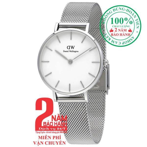 Đồng hồ nữ Daniel WelIlington Classic Petite Sterling -size 32mm - Màu trắng bạc (Silver) DW00100164