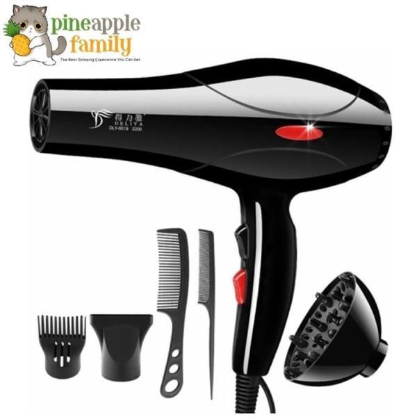 Máy sấy tóc DELIYA 8018, máy sấy tóc công suất lớn, tọa kiểu tóc theo ý thích - Cách chăm sóc tóc chuyên nghiệp  - Siêu khuyến mại đến giá rẻ