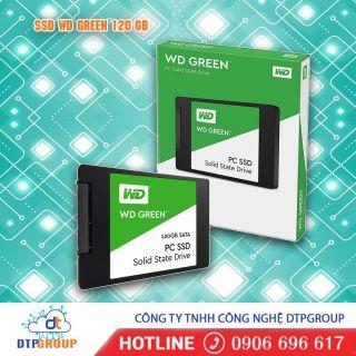 Ổ cứng SSD Western Digital SSD WD Green 120GB 2.5 WDS120G2G0A - Hàng Chính Hãng thumbnail