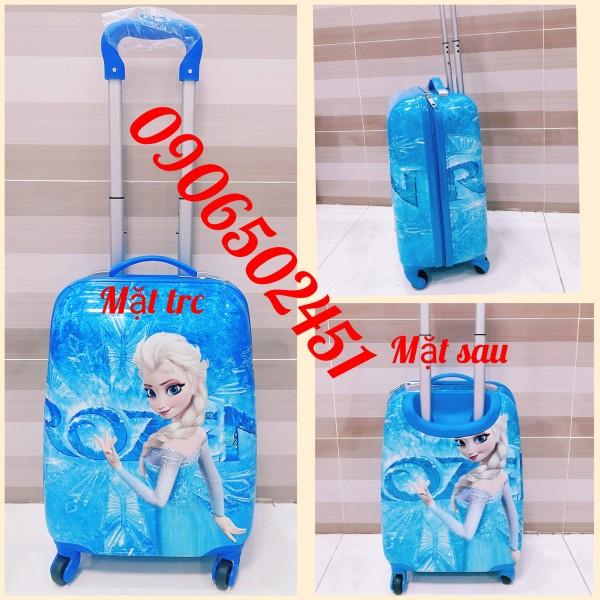 Giá bán (Hàng siêu đẹp) Balo, vali kéo Hàn Quốc họa tiết nhân vật hoạt hình cực đáng yêu dành cho bé trai và bé gái