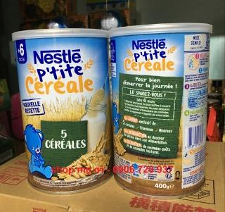 Bột Lắc Sữa Nestle Pháp 400g Tăng Cân 5 Loại Ngũ Cốc Cho Bé Từ 6 Tháng thumbnail
