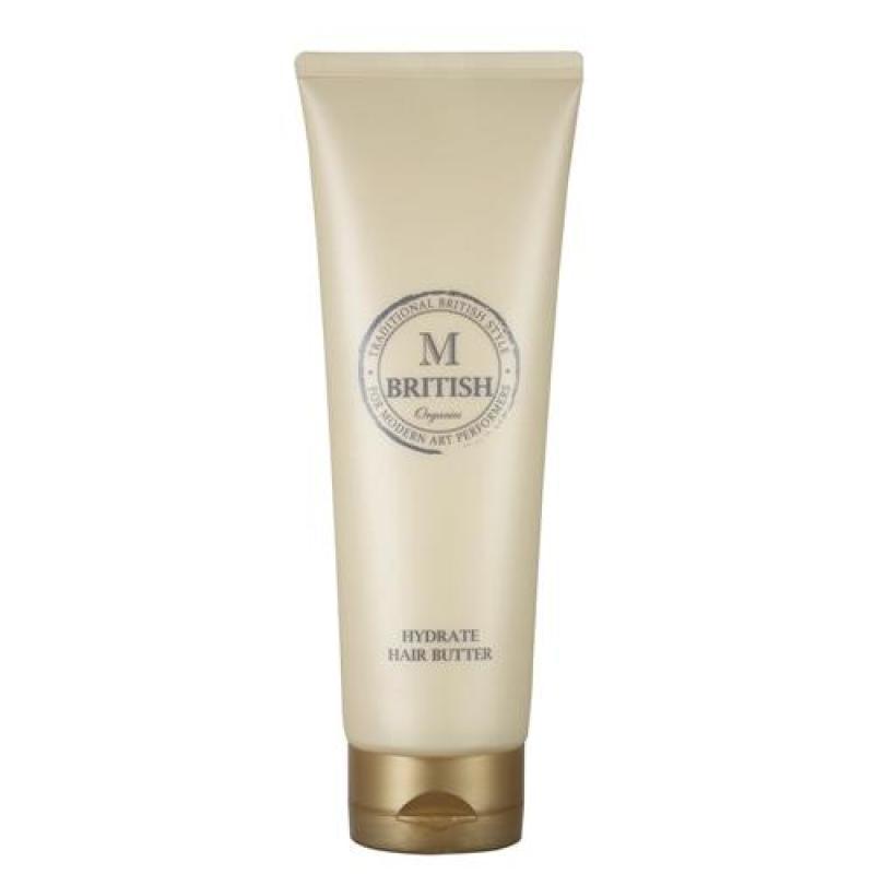 Kem ủ tóc cao cấp BRITISH M HYDRATE HAIR BUTTER phục hồi tóc hư tổn cho tóc khỏe, suôn mượt 250g nhập khẩu