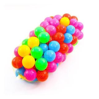 Túi 100 bóng vui chơi cho bé - nhiều màu thumbnail
