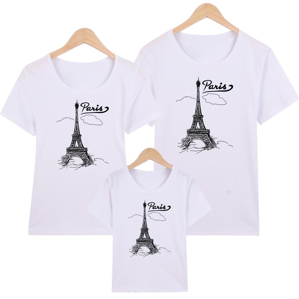 Áo thun nữ-Áo Thun Gia Đình in hình Paris May -ATNK1074 -Giá Trên là giá cho 1 chiếc áo
