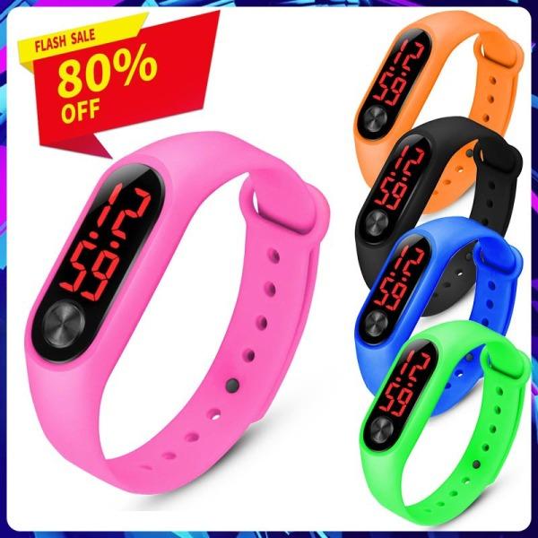 Nơi bán Vòng đeo tay thông minh thời trang Đồng hồ cảm ứng LED / Đồng hồ đeo tay kỹ thuật số điện tử dành cho trẻ em