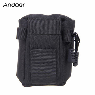 Andoer Fly Leaf Lens Case Pouch Bag 9 8cm for DSLR Nikon Canon Sony Lenses FY-1 thumbnail