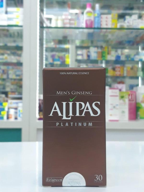 Sâm ALIPAS (hộp 30 viên) Amipharma cao cấp