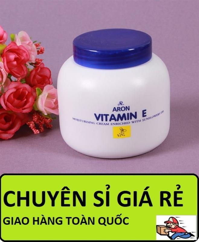 COMBO 5 Kem dưỡng da dưỡng ẩm Vitamin E Thái Lan 200g, Kem dưỡng da vitamin E, Kem vitamin E Thái Lan