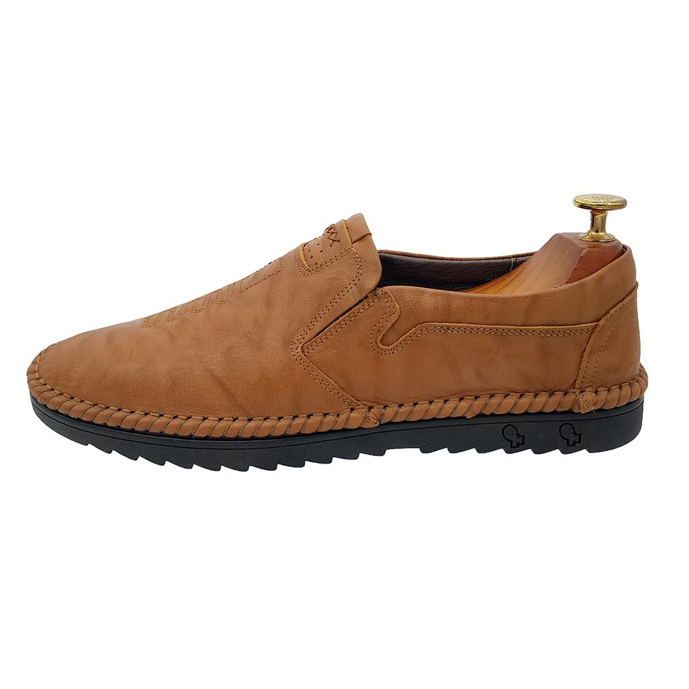 Giày lười nam- giày nam da bò thật- giày lười nam Hàn Quốc- giày lười da nam GL22AZ