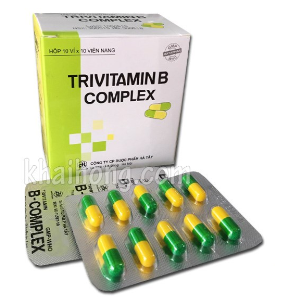 Viên uống B-Complex Hộp 100 viên (Trivitamin B Complex)