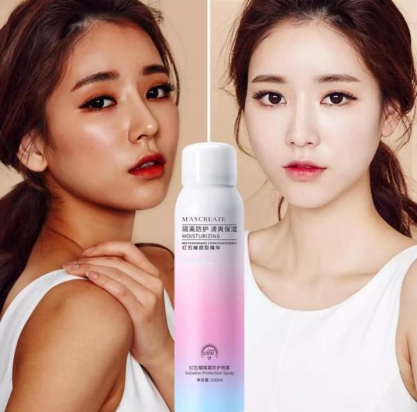 Whitening Sunscreen SprayXịt chống nắng làm trắng da ,. Kem chống nắng SPF45 + PA +++ Chống tia UV, ngoài trời mùa hè, UVA bức xạ hiệu quả 150ml