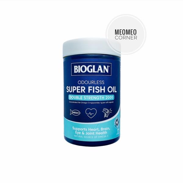 Dầu Cá Bioglan Fish Oil 2000 200v Úc nhập khẩu
