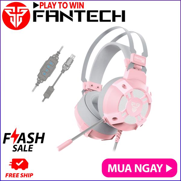 Bảng giá Tai nghe Gaming 7.1 Fantech HG11 CAPTAIN LED RGB Hỗ Trợ Mic Chống Ồn - Hãng Phân Phối Chính Thức Phong Vũ