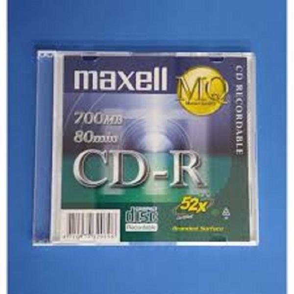 Bảng giá Đĩa CD-R Maxell 700MB (1 hộp 10 cái - 10 vỏ đựng) Phong Vũ