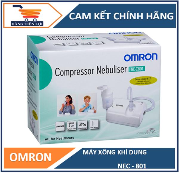 Máy xông mũi họng nén khi Omron NEC-801