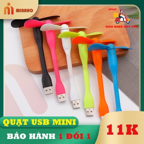 Bảng giá Quạt USB mini siêu mát Minaho mini có thể sử dụng bằng Laptop, sạc dự phòng, sạc điện thoại bảo hành 1 đổi 1 Phong Vũ