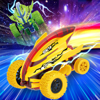 Xe địa hình, xe đồ chơi cho trẻ em dáng cá mập nhào lộn 360 độ giảm xóc và chạy đà cực mạnh bằng nhựa nguyên sinh ABS BBShine DC053 thumbnail