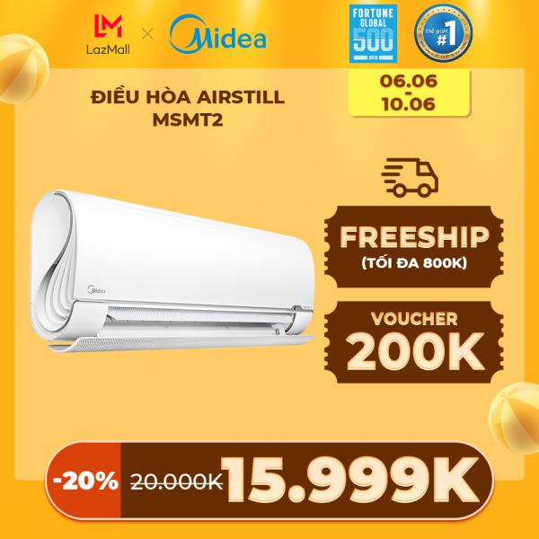 Bảng giá Máy lạnh MideaMSMT2 AirStill 2021 - 1 Đêm 1 Kwh Điện