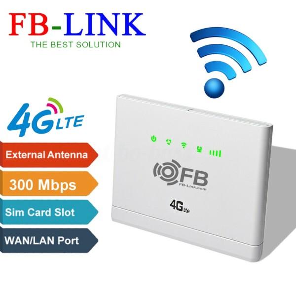 Bảng giá [HCM]Bộ Phát Wifi 4G LTE FB-Link CPE-V08 (Chuyên dùng xe khách - 32 user - 2 cổng LAN) Phong Vũ