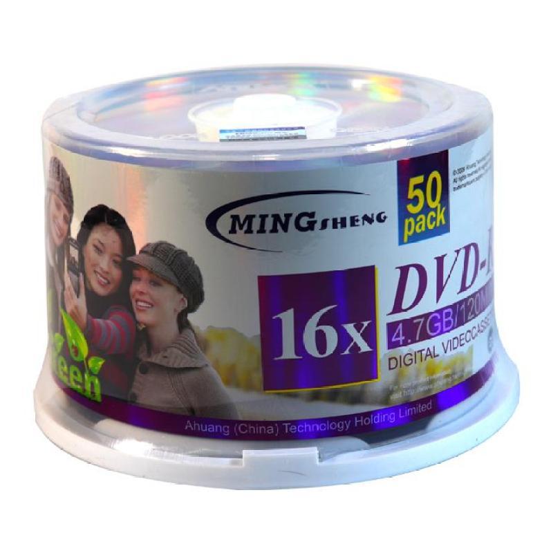 Bảng giá 3h computer Đĩa dvd trắng ,Đĩa trắng DVD Mingsheng 1 lốc 50 cái 4.7G hộp box Phong Vũ