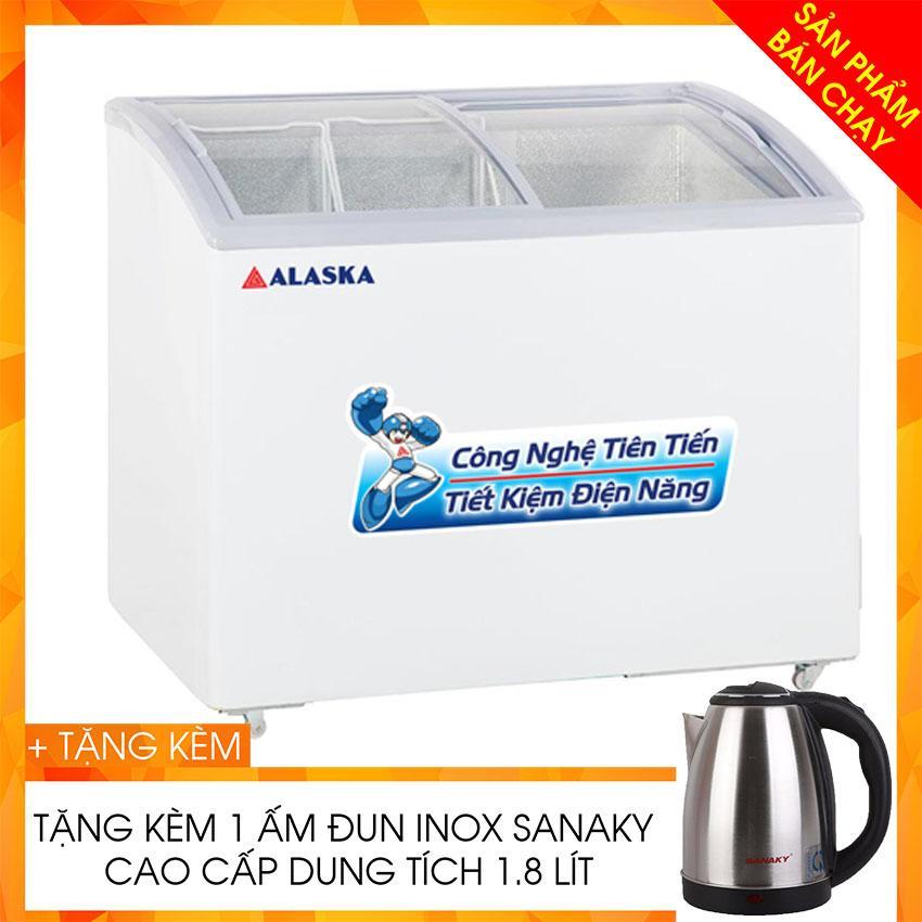TỦ ĐÔNG TRƯNG BÀY KEM ALASKA 400 LÍT SD-401Y