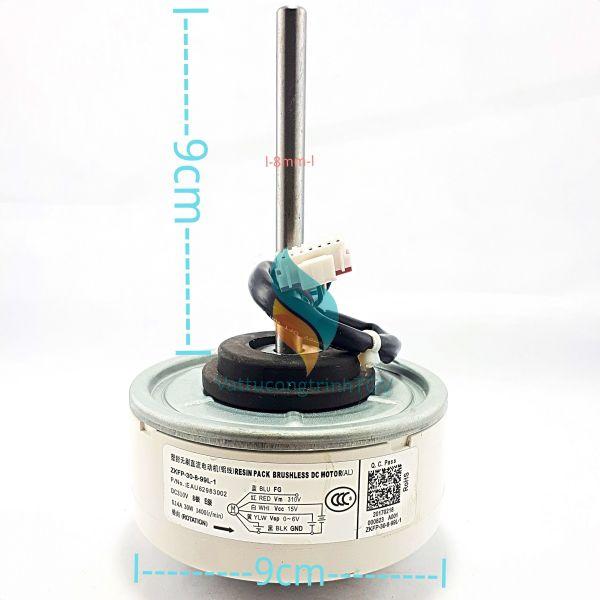 Motor quạt màn lạnh điều hòa LG Inverter DC310V- 30W