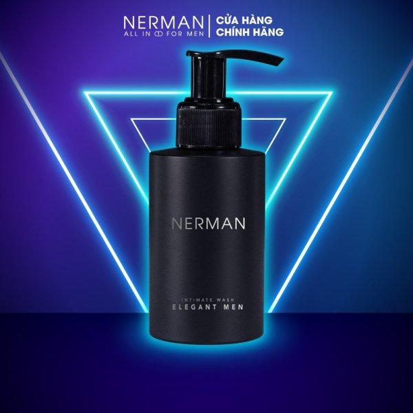 Gel vệ sinh nam giới Elegant Men Nerman hương nước hoa cao cấp 100ml giá rẻ