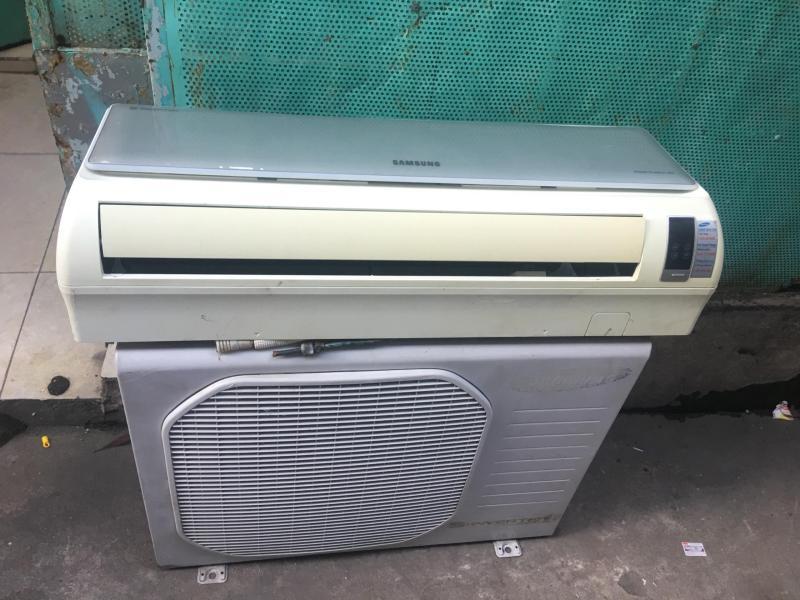 Máy lạnh cũ giá rẻ tiết kiệm điện Samsung 1HP inverter - bao lắp đặt(chỉ nội thành HCM) chính hãng
