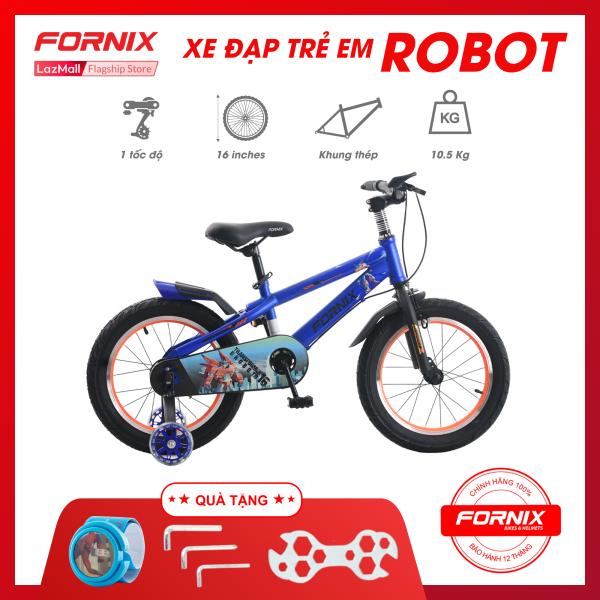 Mua Xe đạp trẻ em Fornix Robot- Vòng bánh 16 inch (KÈM SÁCH HƯỚNG DẪN) - Bảo hành 12 tháng + Tặng (Bộ lắp ráp - Đồng hồ trẻ em)