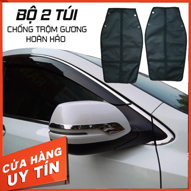 Bộ 2 túi Chống trộm, chống cắt gương ô tô- Túi bảo vệ gương ô tô , bảo vệ gương xe hơi ( Dòng xe 7 chỗ, xe bán tải)