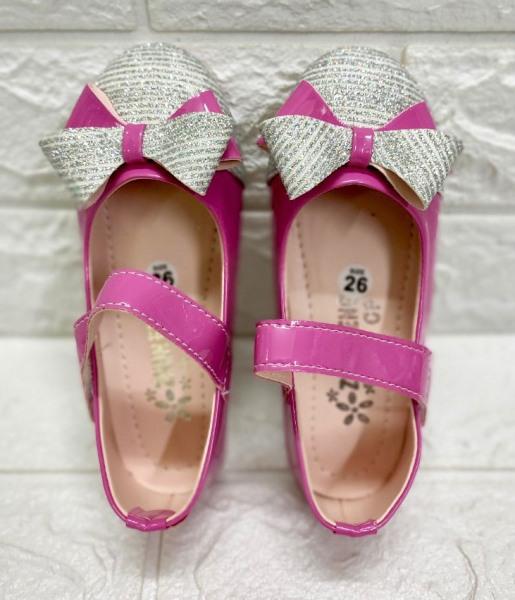 Giá bán Giày Búp Bê Nơ Kim Tuyến Bé Gái Siêu Bền Đẹp - Giày Bé Gái Dễ Thương - Giày Bé Gái Đi Học