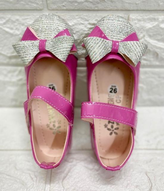 Giày Búp Bê Nơ Kim Tuyến Bé Gái Siêu Bền Đẹp - Giày Bé Gái Dễ Thương - Giày Bé Gái Đi Học giá rẻ