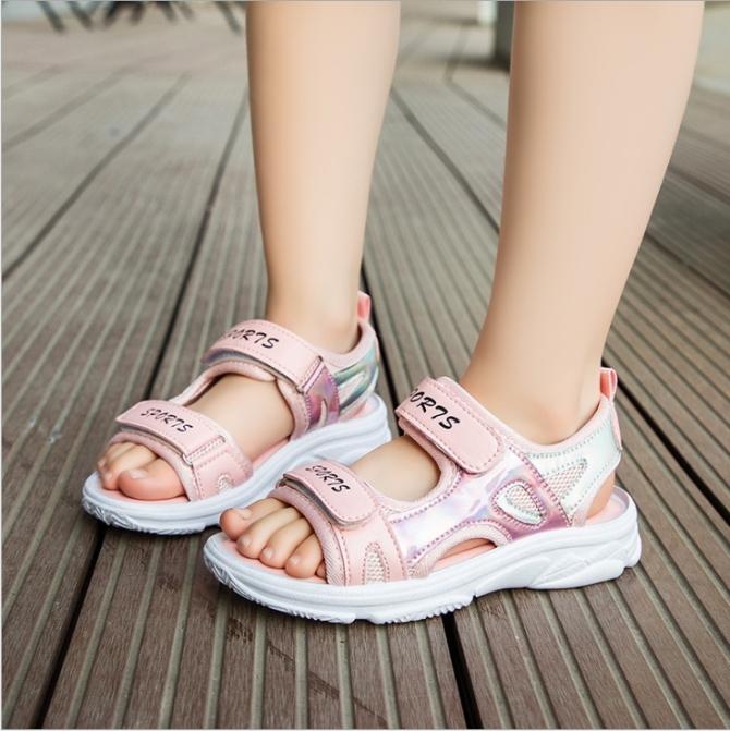 Sandal cho bé gái - giày đi học bé gái STL55 giá rẻ