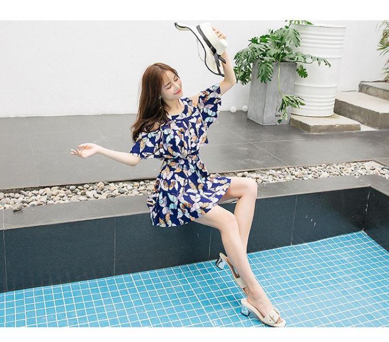 Nơi bán Đồ bơi dáng váy đi biển che khuyết điểm_8836