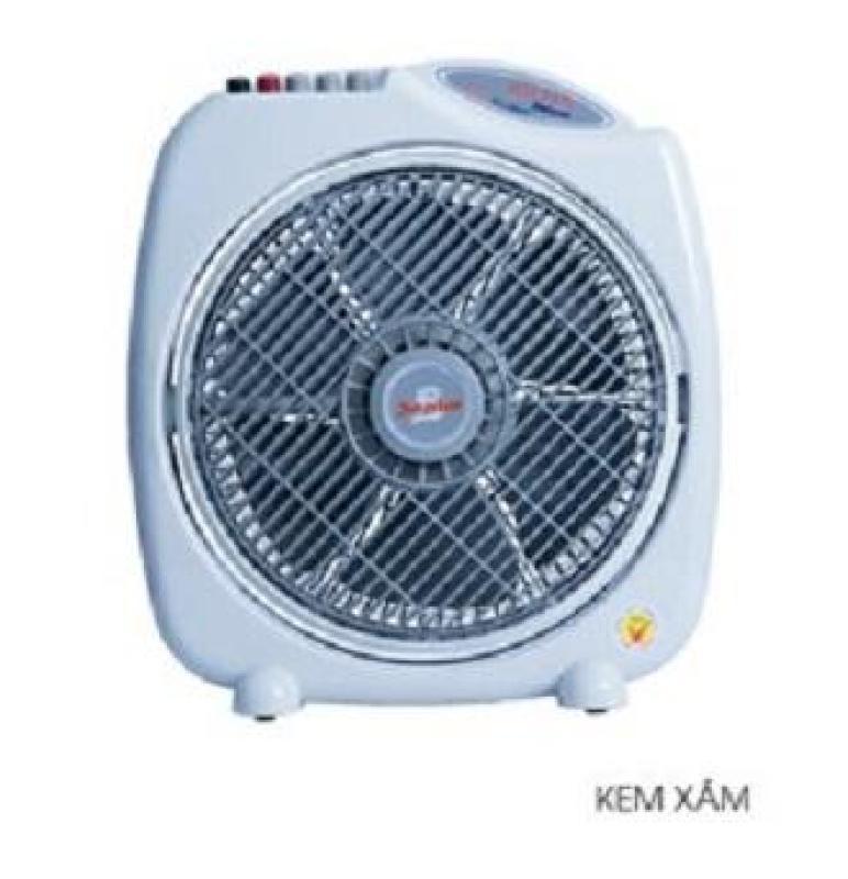 QUẠT HỘP SENKO BD1010 (3 tấc chuyển hướng điện) - NGÃ TỰ NGẮT ĐỘNG CƠ