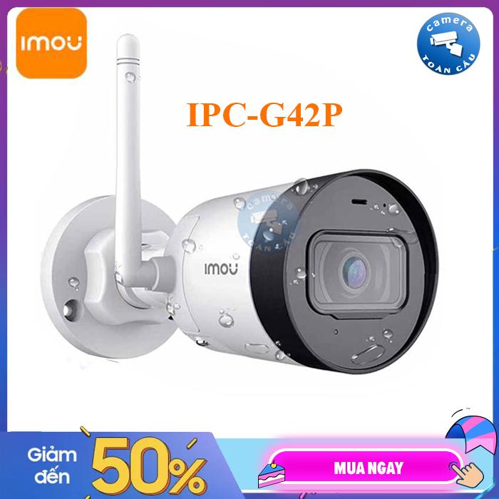 [BẢO HÀNH 2 NĂM] Camera IP WIFI IMOU IPC-G42P ( 4.0MP ) -Camera giám sát an ninh không dây -  Camera Toàn Cầu