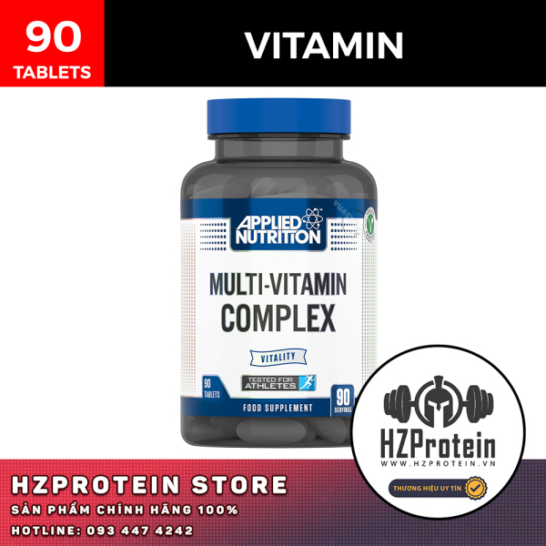 MULTI VITAMIN COMPLEX - VITAMIN TỔNG HỢP HÀM LƯỢNG CAO (90 VIÊN) nhập khẩu