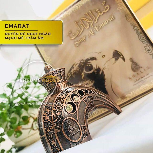 TINH DẦU NƯỚC HOA DUBAI NỘI ĐỊA SAQAR AL EMARAT – Tuyệt tác của những người đàn ông mạnh mẽ