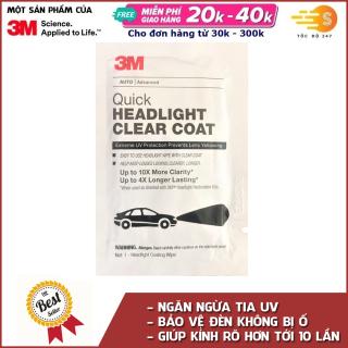 Dung dịch phủ bóng bảo vệ và chống ố đèn pha ô tô 3M 32516 thumbnail