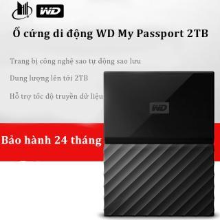 Ổ cứng ngoài , Ổ cứng dành cho MAC. Ổ cứng di động WD My Passport 2TB Trang bị công nghệ sao tự động sao lưu,Dữ liệu được bảo vệ, Dung lượng lưu trữ đến 2TB thumbnail
